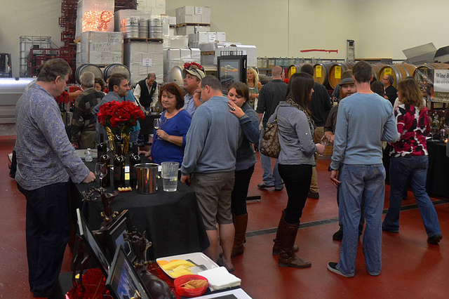 Camarillo Custom Crush Wine Tasting
